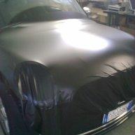 bmw mini wrapping pellicola nero opaco e carbonio nero spinaudio (1)