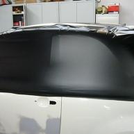 fiat 500 bicolore nero opaco e pelle nera wrapping pellicola spinaudio (102)