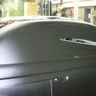 fiat 500 bicolore nero opaco e pelle nera wrapping pellicola spinaudio (114)