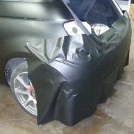 fiat 500 bicolore nero opaco e pelle nera wrapping pellicola spinaudio (150)