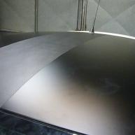 fiat 500 bicolore nero opaco e pelle nera wrapping pellicola spinaudio (176)