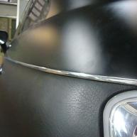 fiat 500 bicolore nero opaco e pelle nera wrapping pellicola spinaudio (179)