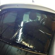 fiat 500 bicolore nero opaco e pelle nera wrapping pellicola spinaudio (223)