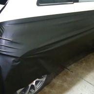 fiat 500 bicolore nero opaco e pelle nera wrapping pellicola spinaudio (30)
