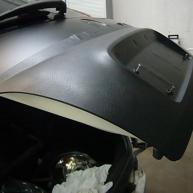 fiat 500 bicolore nero opaco e pelle nera wrapping pellicola spinaudio (56)