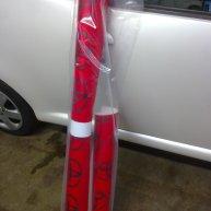toyota aygo wrapping bianco perla opaco e rosso opaco spinaudio (25)